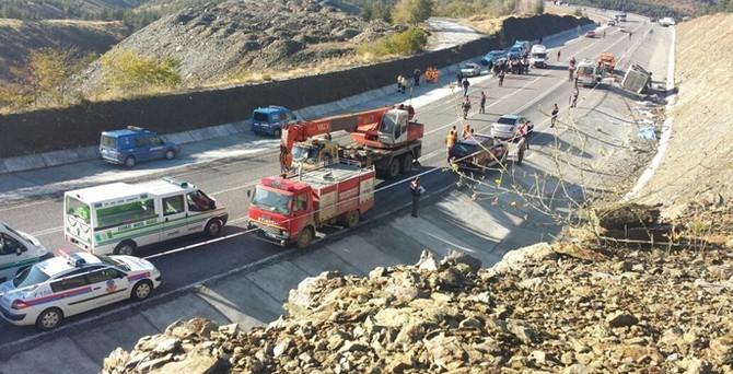 Isparta'da feci kaza: 17 ölü, 28 yaralı