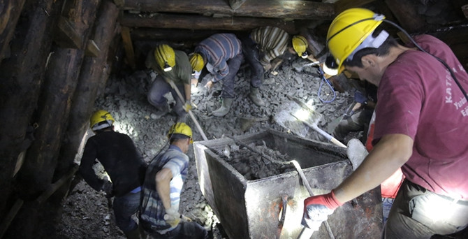 Madenin sahibi teslim oldu