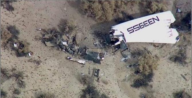 ABD'de yine uzay aracı kazası: 1 pilot öldü!