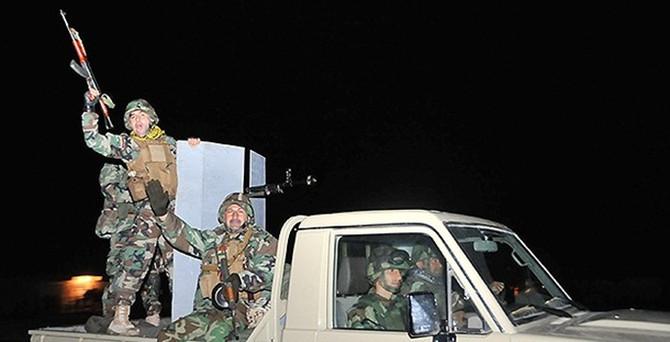 Peşmerge Kobani'ye hareket etti