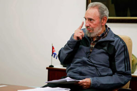 Castro, uzun bir aradan sonra tekrar televizyona çıktı