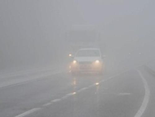Bursa-Balıkesir yolunda sis engeli