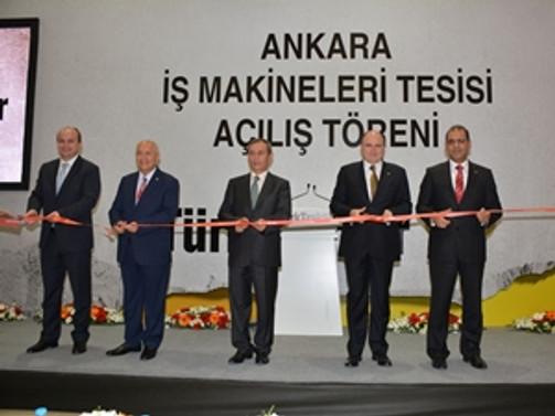 TürkTraktör'ün ikinci bölge tesisi faaliyete geçti