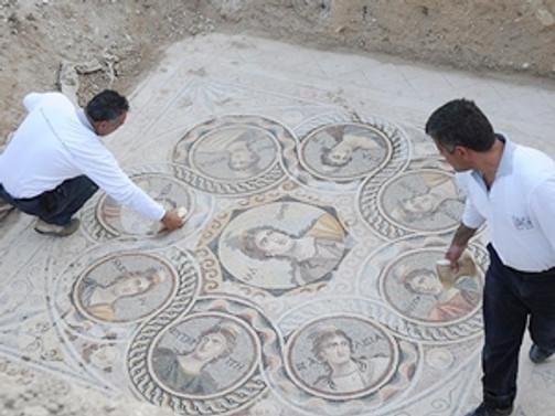 Zeugma Antik Kenti'nde 3 yeni mozaik bulundu