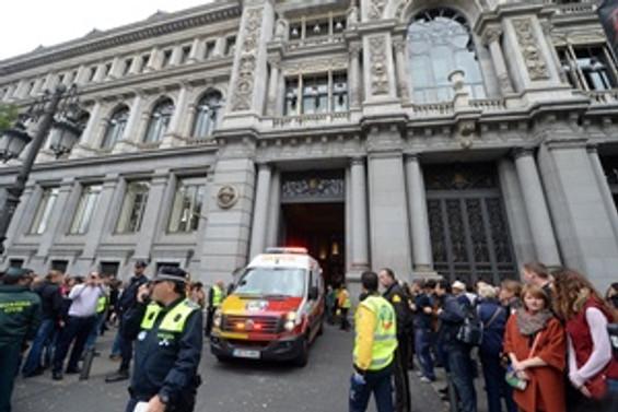 İspanya Merkez Bankası'nda yangın:3 yaralı