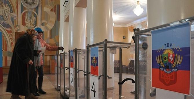 Ukrayna ayrılıkçılar başkanlarını seçti