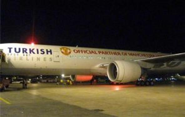 THY, Boeing 777'ye Manchester United forması giydirdi
