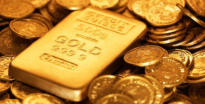 Altın iki haftanın zirvesinde