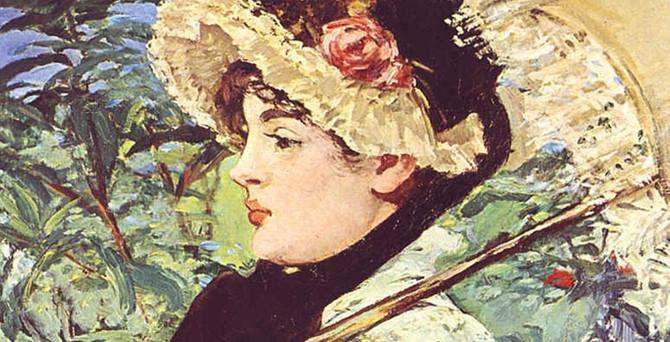 Manet'in 'İlkbahar' başyapıtı 65 milyon dolara satıldı