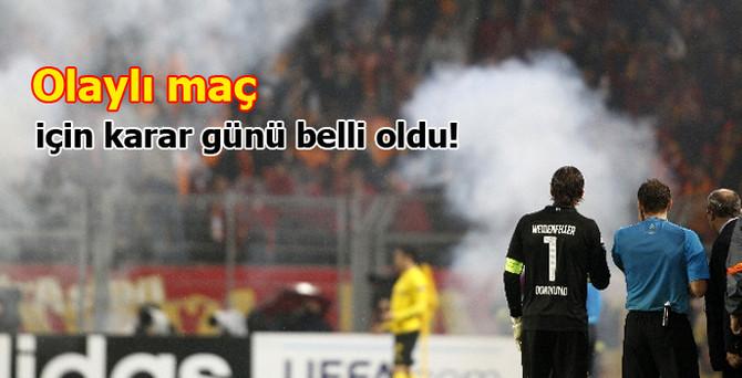 Galatasaray için karar günü belli oldu