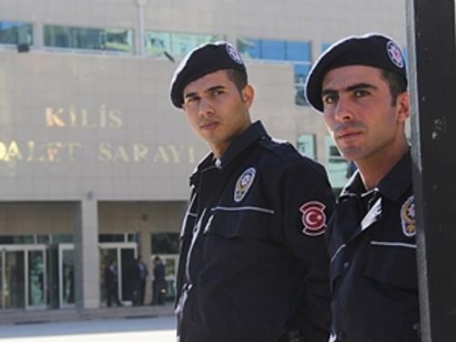 Kilis'te 25 polis gözaltında