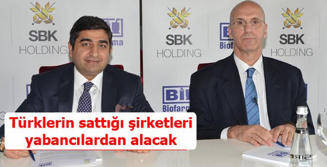 Türklerin sattığı şirketleri yabancılardan alacak