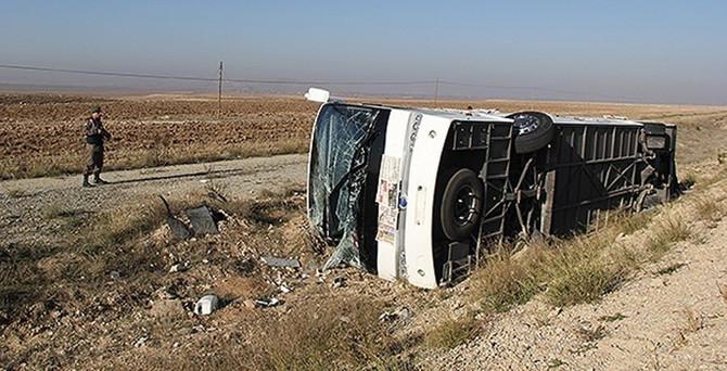 Geçen yıl 7 bin otobüs kazaya karıştı