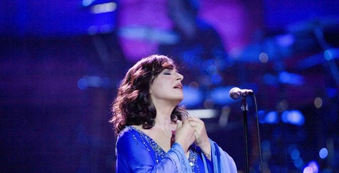 Haris Alexiou İstanbul'da konser verdi
