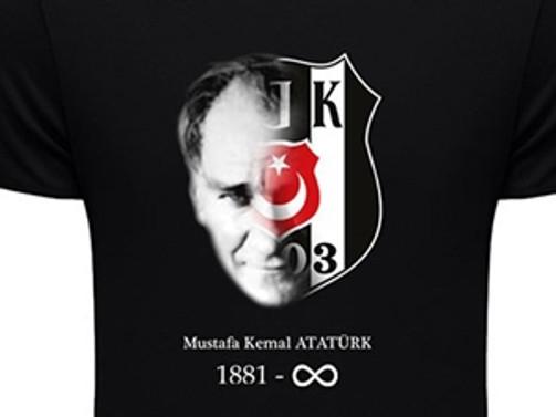 Beşiktaş'tan Atatürk anısına tişört