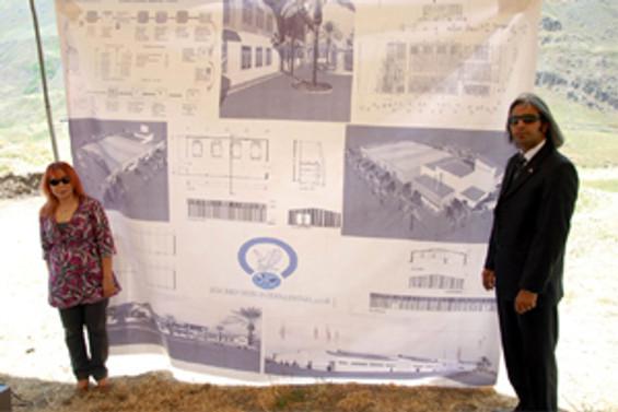 Hakkari'de su paketleme fabrikasının temeli atıldı