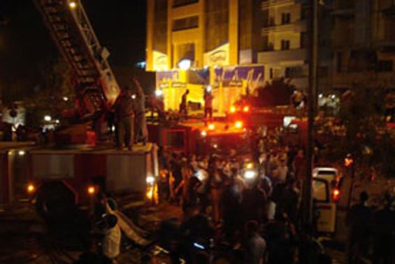 Süleymaniye'de otel yangını: 29 ölü
