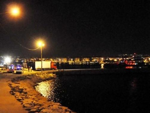 Silivri'de tekne alabora oldu