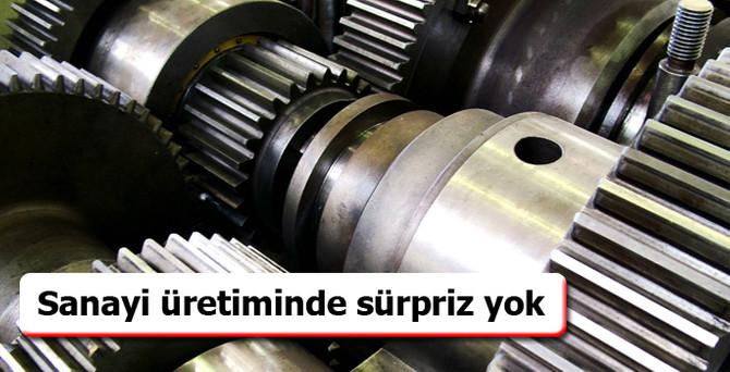 Sanayi üretimi eylülde yüzde 2.2 arttı