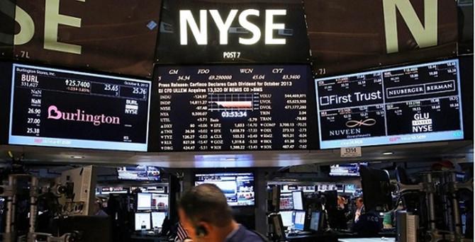 New York borsası düşüşünü sürdürdü
