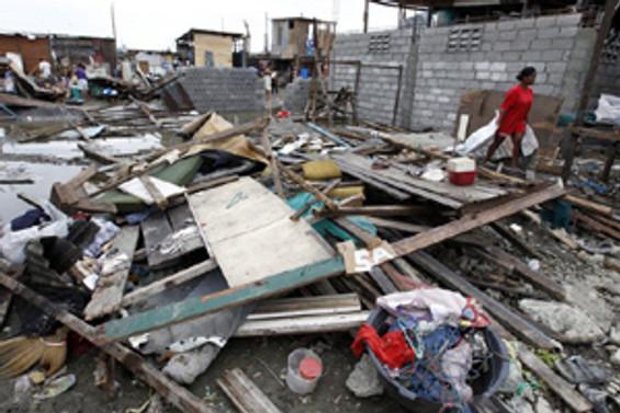 Conson tayfunu Vietnam'a ulaştı