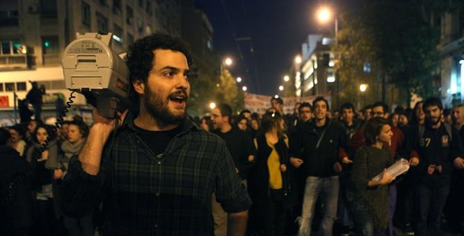 Yunanistan'da 17 Kasım protestosu
