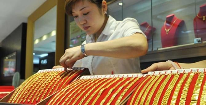 Çin'n altın sevgisi azaldı, küresel talep yüzde 2 düştü
