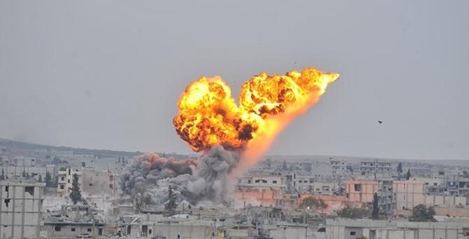 IŞİD'e 3 günde 31 hava saldırısı