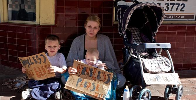 ABD'de evsiz çocuk sayısında büyük artış