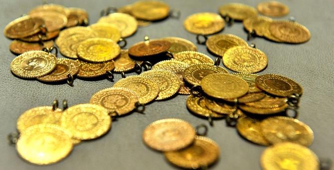 Altının gramı 105 liraya geriledi