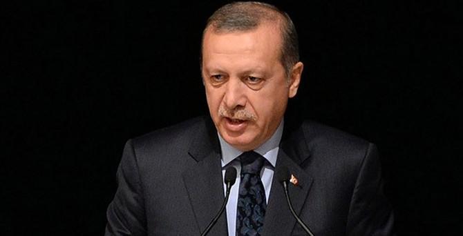 Erdoğan: O iddia bana ait değil