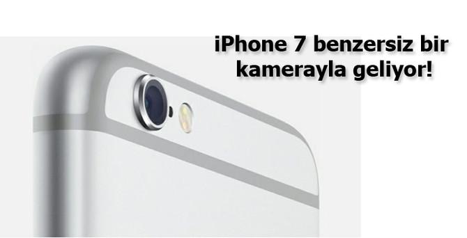 iPhone 7 benzersiz bir kamerayla geliyor!