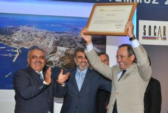 Socar&Turcas, Ege Rafinerisi için lisansını aldı