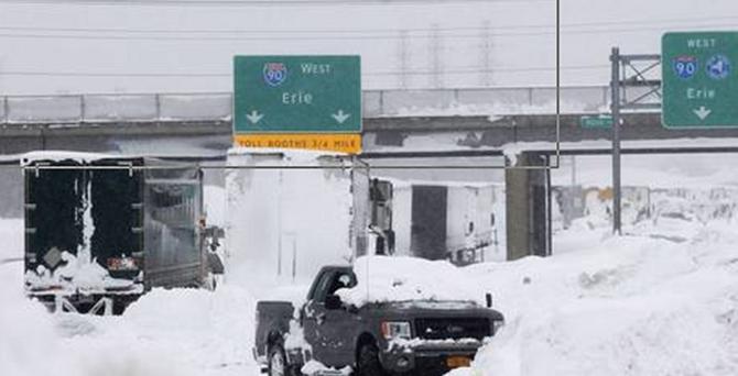 New York'ta kar 13 can aldı