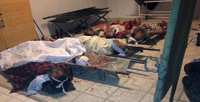 Voleybol maçında intihar saldırısı: 55 ölü!