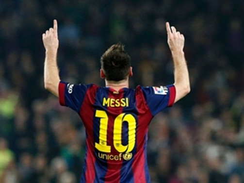 Messi gözünü 'Dev'ler tahtına dikti