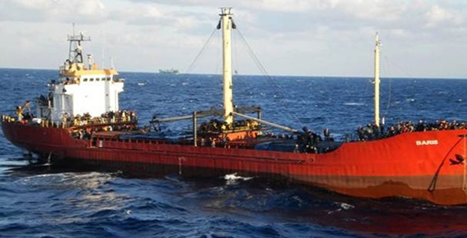 Ege'de Türk gemisi alarmı