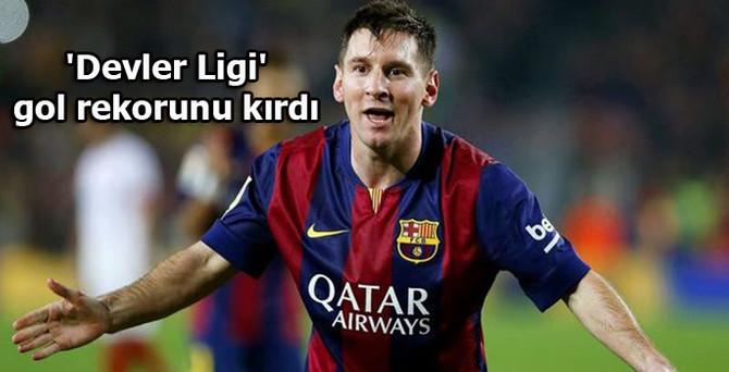 Messi, 'Devler Ligi' gol rekorunu kırdı