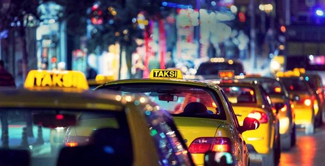 Taksiler çarşamba günü bedava