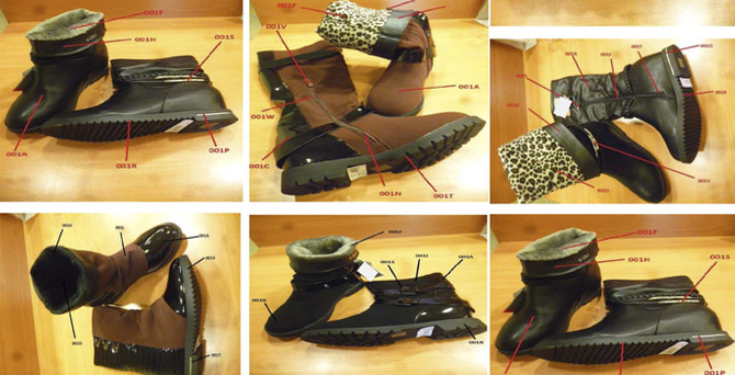 Bakanlık kanserojen ayakkabıları paylaştı