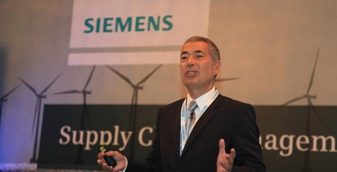 Siemens'in satın alma hacmi 1 milyar euroya koşuyor