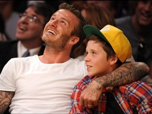 David Beckham trafik kazası geçirdi!