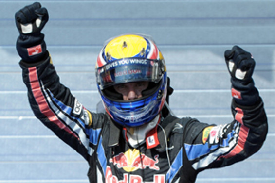 Macaristan'da zafer Mark Webber'in