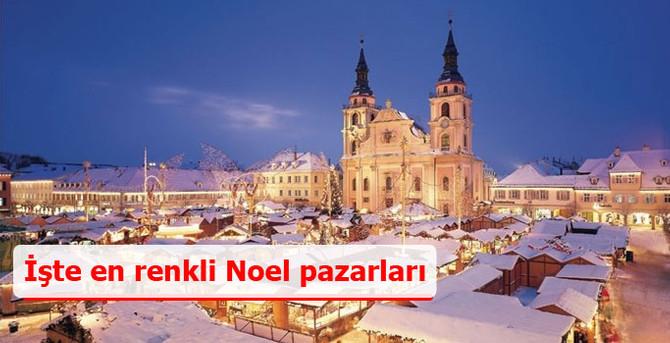 İşte en renkli Noel pazarları