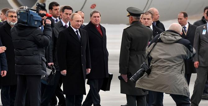 Ve Putin Türkiye'de