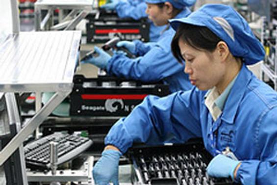 Çin'de imalat sektörü daraldı