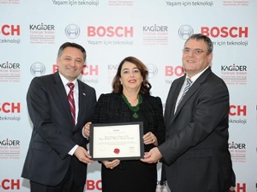 Bosch, kadın istihdamıyla sertifikalandırıldı