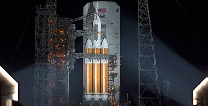 Orion, Mars'a doğru yola çıktı