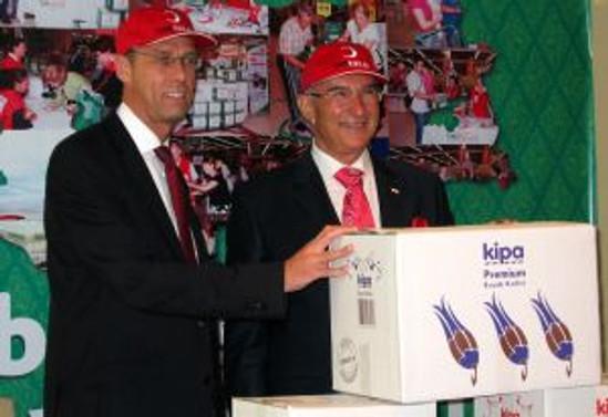 Kipa ile Kızılay, ortak Ramazan paketi hazırlayacak