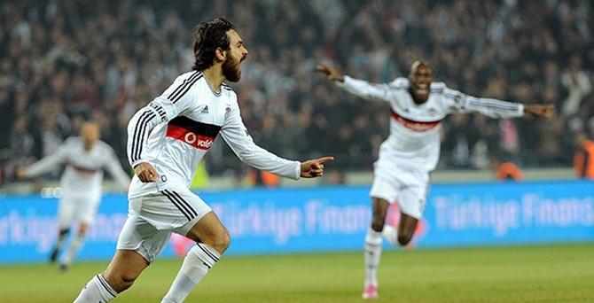 Beşiktaş, Trabzonspor'u 3-0'la geçti